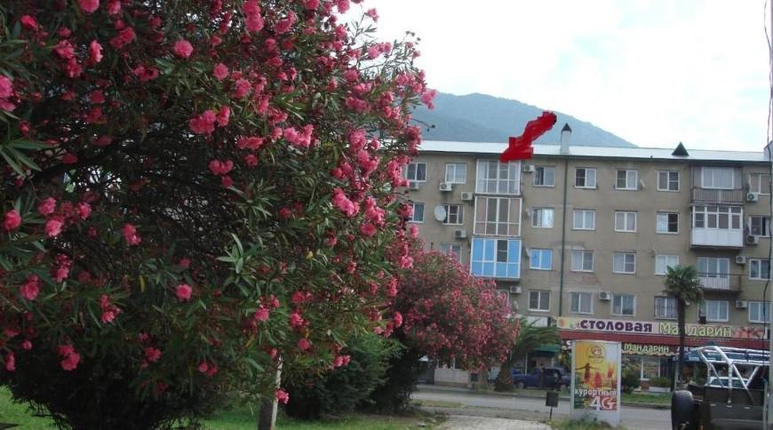 """Изображение апартаментов """"на Абазгаа 49/1"""" #1"""
