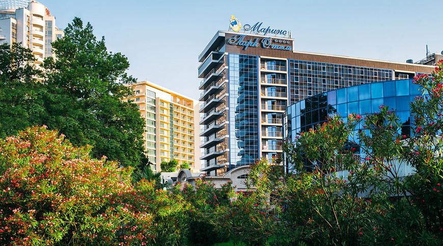 """Изображение гостиницы """"Маринс Парк Отель"""" #1"""