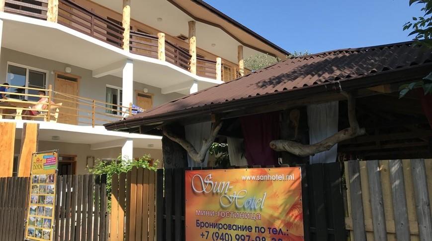 """Изображение гостевого дома """"Sun Hotel"""" #1"""