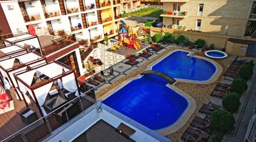 """Изображение отеля """"Понтос"""" #3"""