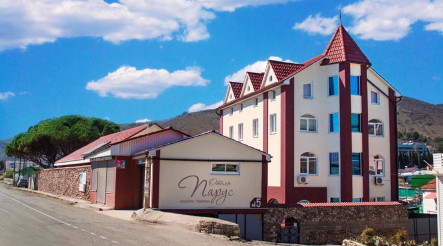 """Изображение отеля """"Парус"""" #1"""