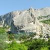 """Krim - Südküste -""""Felsensegel"""" in der Nähe von Foros"""